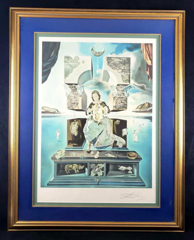 Salvador Dali The Madonna of Port Lligat Signed Lithograph