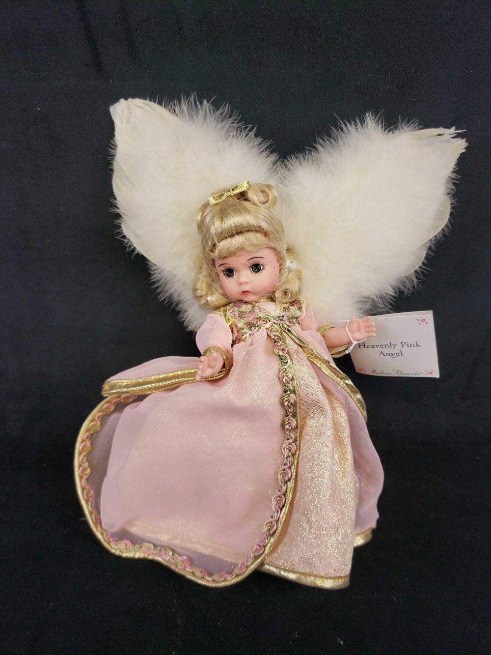 Madame Alexander Heavenly Pink Angel Doll