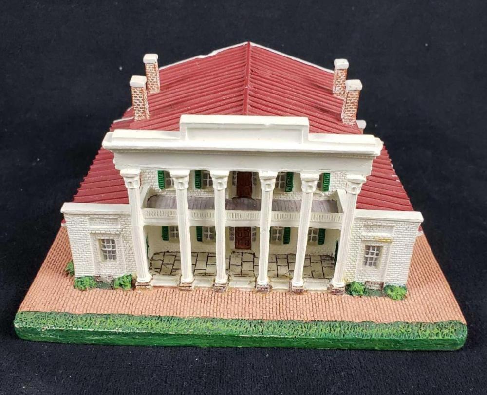The Hermitage Nashville Tennesee Danbury Mint 1993 Figurine