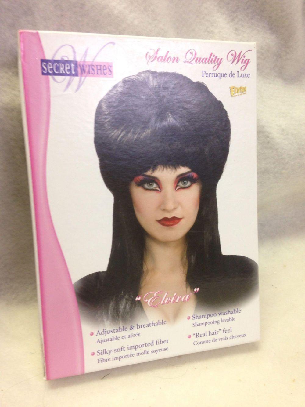 NOS-Halloween Wig-Elvira Mistress of the Dark