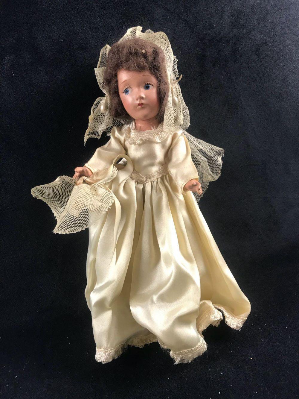 Composition Bride Doll