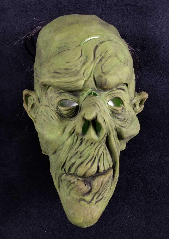 Green Goblin Monster from Creature Revenge Studio Halloween Mask