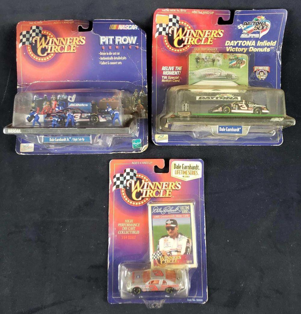 Winners Circle NASCAR Collectible Number 3 Dale Earnhardt Die Cast Cars