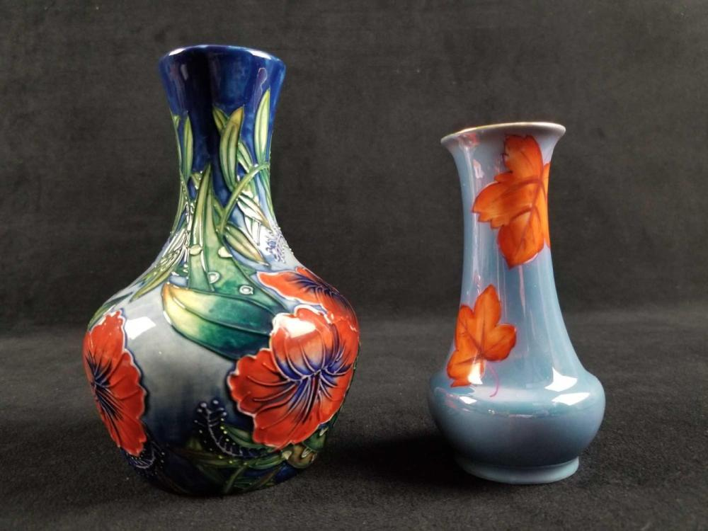 Old Tupton and Noritake Mini Floral Vases