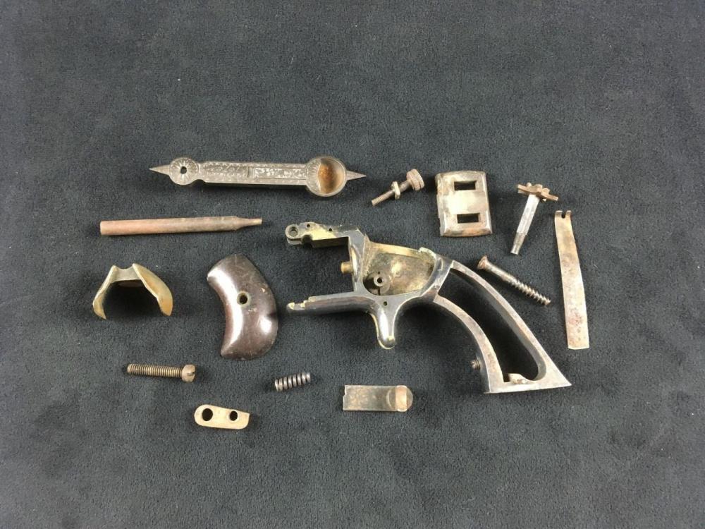 Collection of 14 MiscellaneousVintage Antique Gun Parts