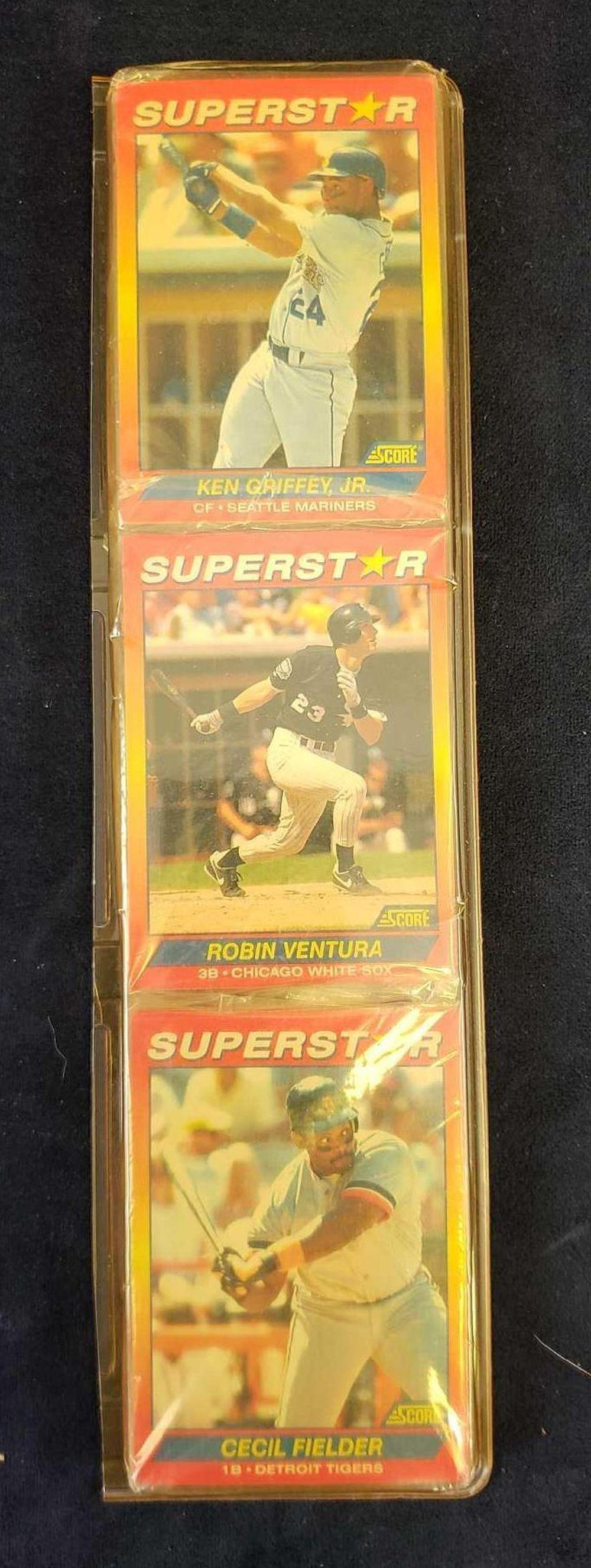 Score Superstar Unopened Baseball Cards