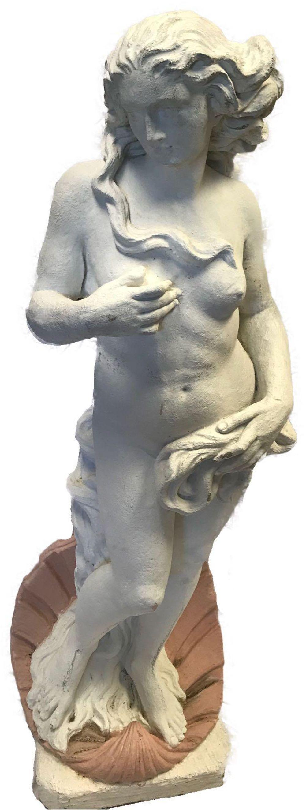 "Garden Statue ""The Birth of Venus"" by Botticelli"