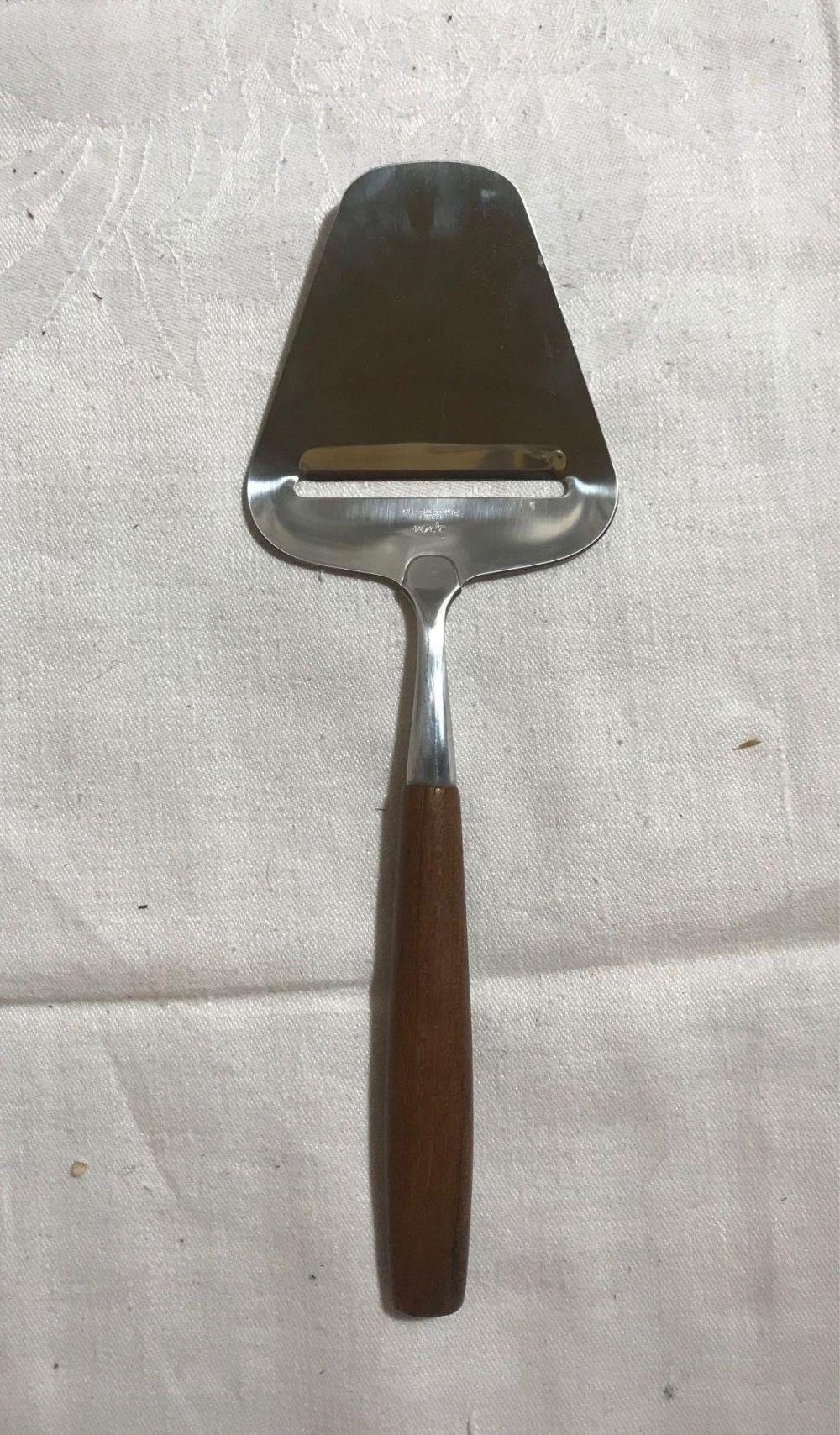Vintage Spar Norway Stainless Steel Cheese Slicer