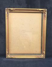 Lot 101: 9 x 11 1/2 Ornate Wooden Picture Frame