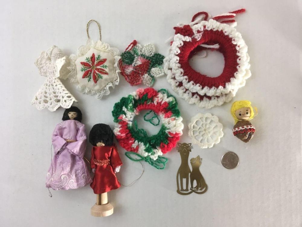 Lot 107: Vintage Christmas Ornament Lot #19