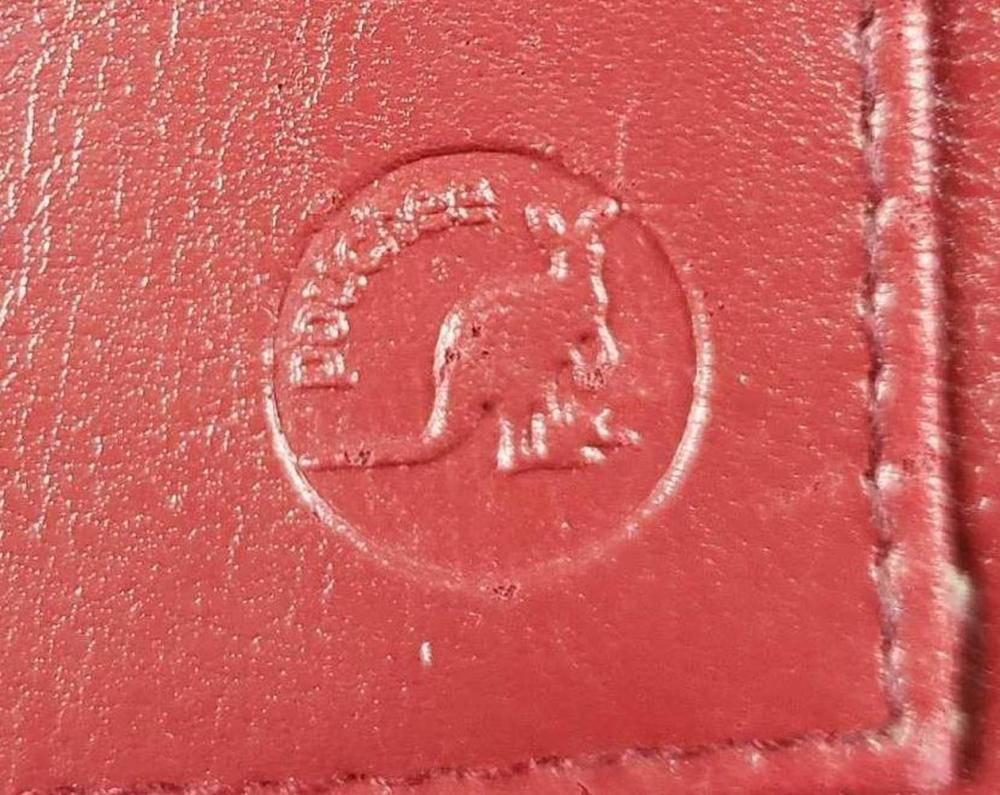 Lot 105: Pouchee Red Organizer Purse