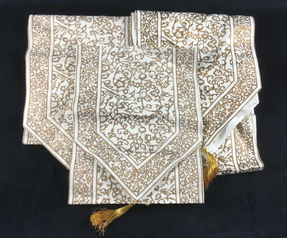 Indian Tasseled Table Runners