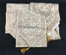 Lot 11: Indian Tasseled Table Runners