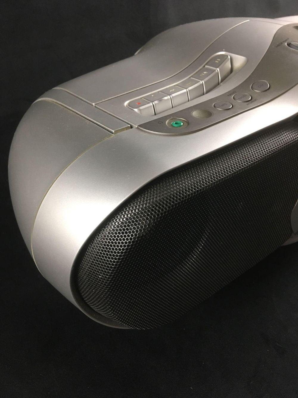 Lot 112: Sony Boom Box Portable Stereo CD Radio