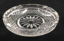 Lot 115: Vintage Cut Crystal Ashtray