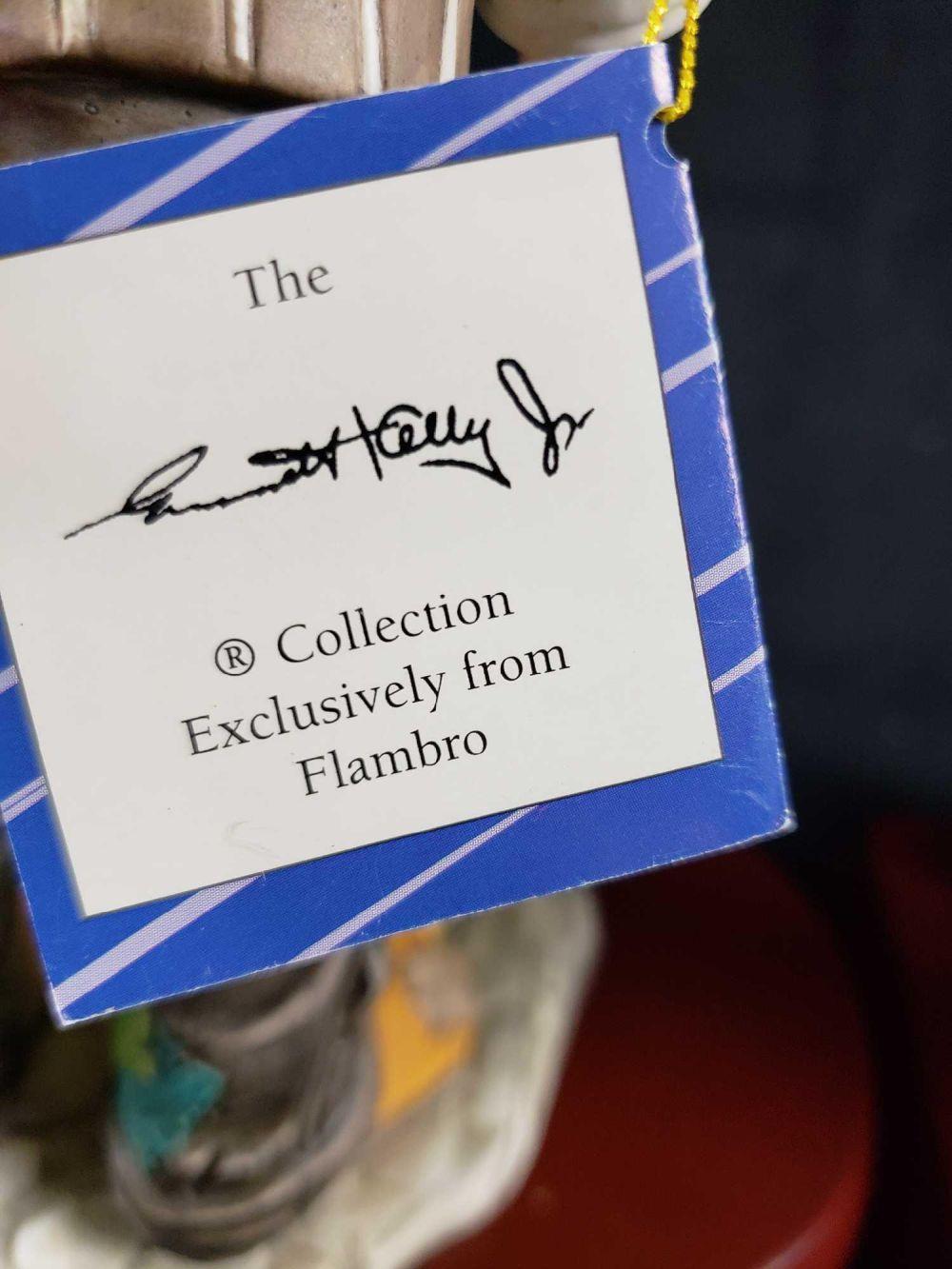 Lot 118: Three Flambro Collection Clown Figurines