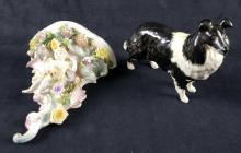 Lot 128: Lot of 2 Porcelain Figurines