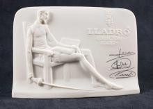 Lot 132: Lladro Collectors Society Plaque