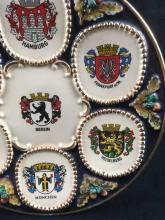 Lot 13: Vintage Collectors Plate Showing German City Coat of Arms