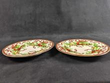 Lot 134: Set Of Two Tiffany and Co Garland Plates
