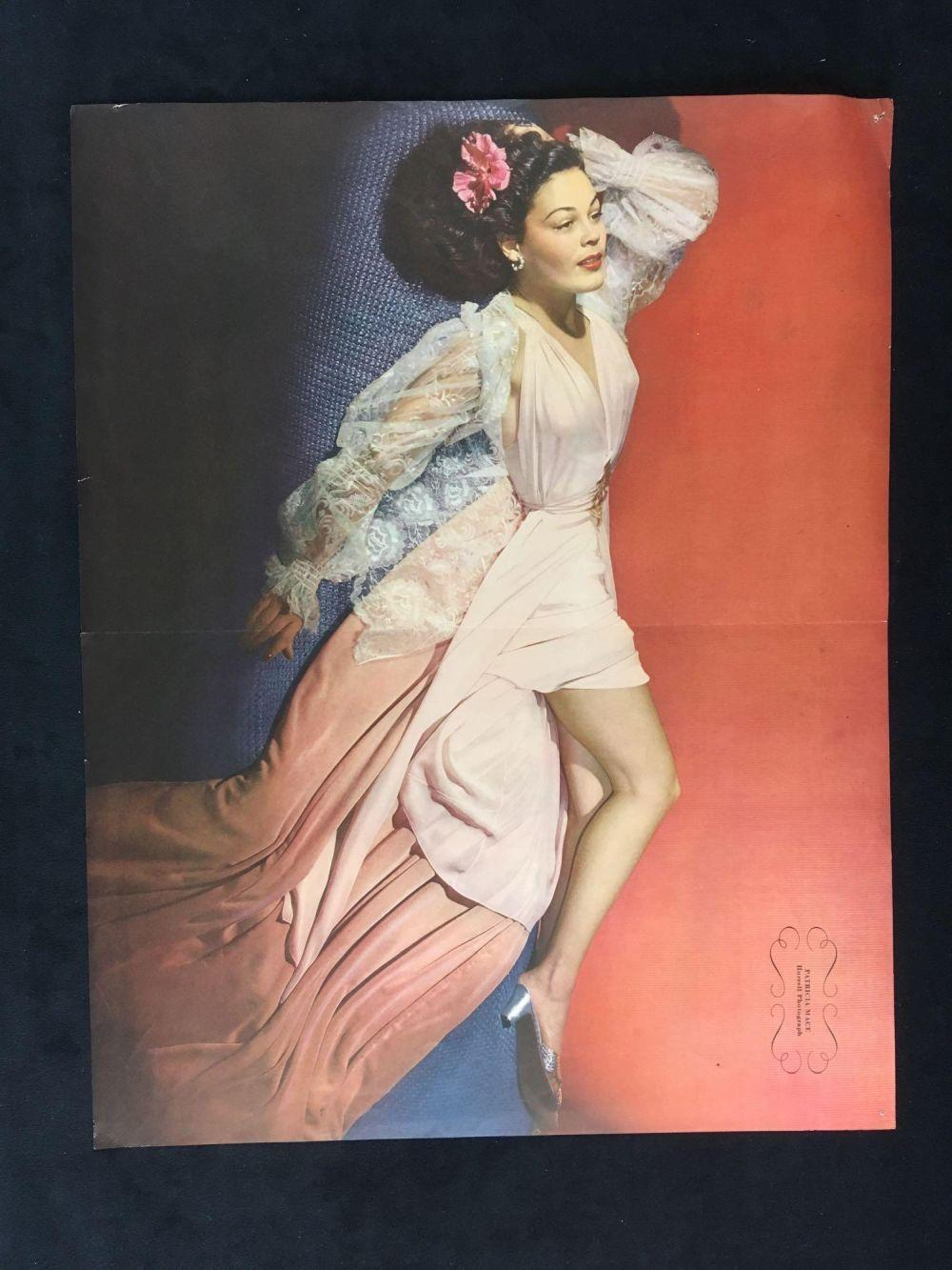 Lot 140: Vintage Esquire Magazine Pin-up Girl Here I Thought by George Petty, Circa 1940s