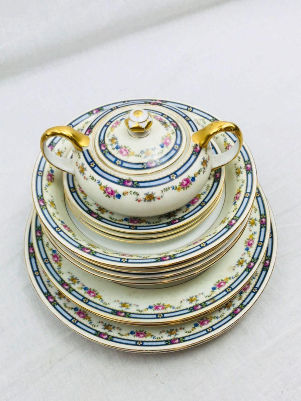 Lot 15: Bohemia Cecil Czecho-Slavakia China Macy's