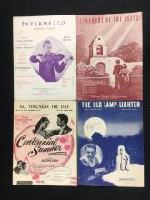 Lot 149: Collection of 12 Pieces of Vintage Sheet Music 1920s to 1940s