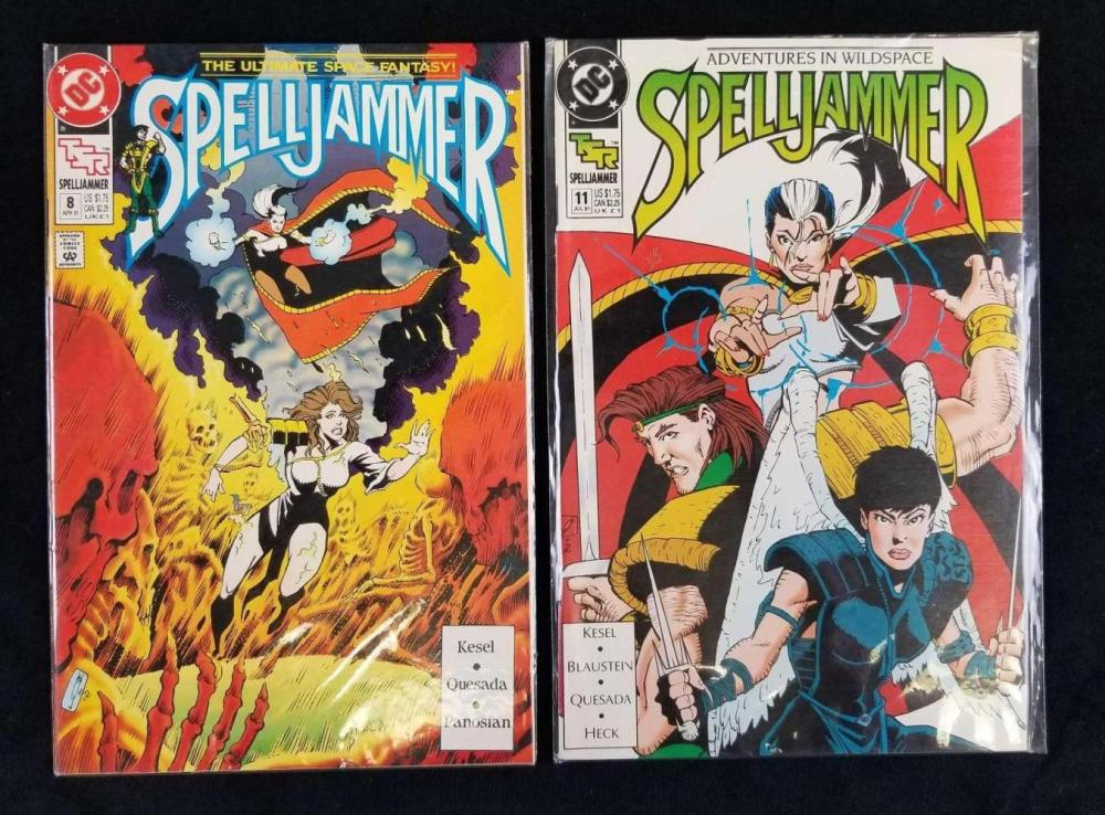 Lot 156: Spelljammer Comics Lot B