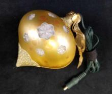 Lot 161: Hallmark Illuminations Watching For Santa Ornament