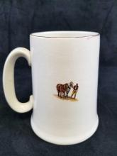 Lot 163: Vintage Old Coach House Woodhampton Beer Mug Stein