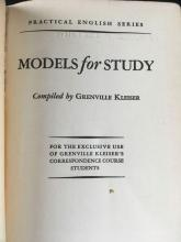 Lot 165: Lectures on Rhetoric and Models for Study Practical English Series Mini Books