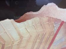 Lot 170: Vintage 80's George Farris Paper Art Collage - Retro 80s wave