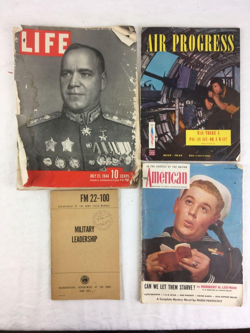 Lot 173: Vintage Military Magazine Collection