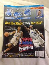 Lot 189: full set of 1995 Offical Orlando Magic Magazine - plus 1