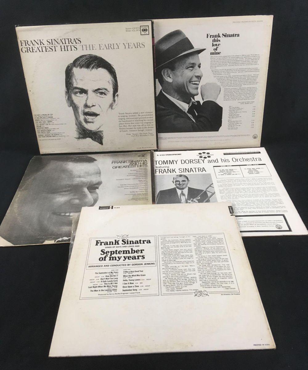 Lot 193: 5 Frank Sinatra Records