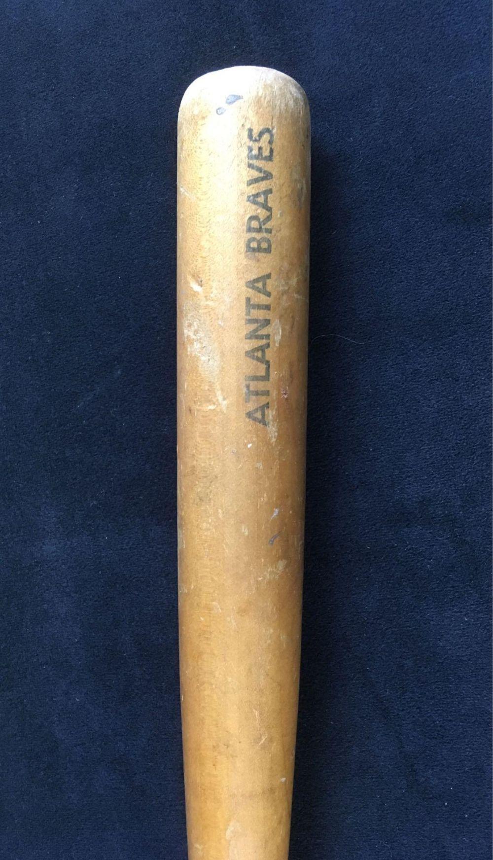 Lot 192: Vintage Atlanta Braves MiniatureSouvenirBaseball Bat