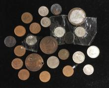 Lot 198: Mixed Lot of World Coins