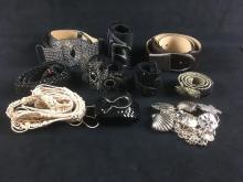 Lot 20: Set of 10 Women's Designer Belts