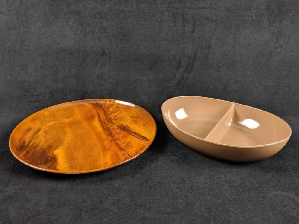 Lot 241: Party Platters Lot of 2