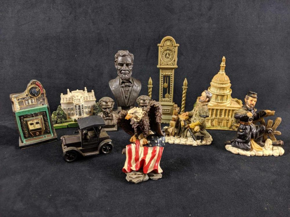 Lot 243: Assorted Miniatures Lot of 11