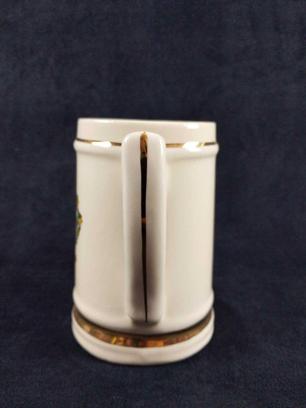 Lot 245: Foster Family Crest Vintage Ceramic Beer Mug