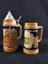 Lot 272: German Beer Steins Lot of 2