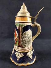 Lot 281: Musical Laras Theme German Stein Beer Mug