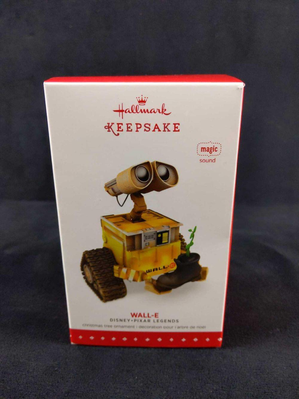 Lot 285: Hallmark Keepsake Wall E Christmas Ornament