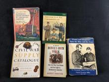 Lot 284: Lot Of Five Civil War Books B