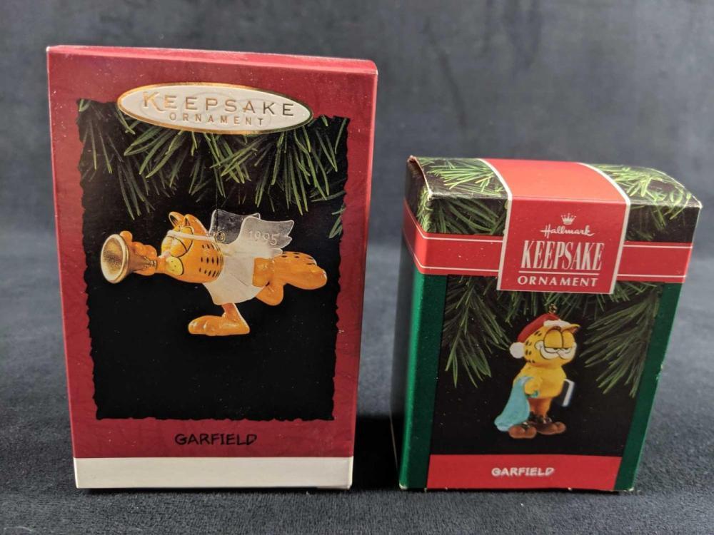 Lot 294: Hallmark Keepsake Garfield Lot Of Two