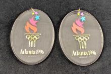 Lot 298: Lot Of Two Hallmark Keepsake Atlanta 1996 Olympic Spirit Ornaments Retired