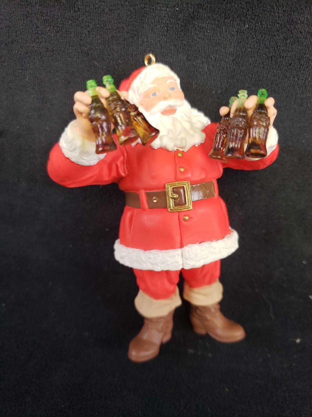 Lot 35: Lot of 8 Christmas Themed Hallmark Keepsake Ornaments