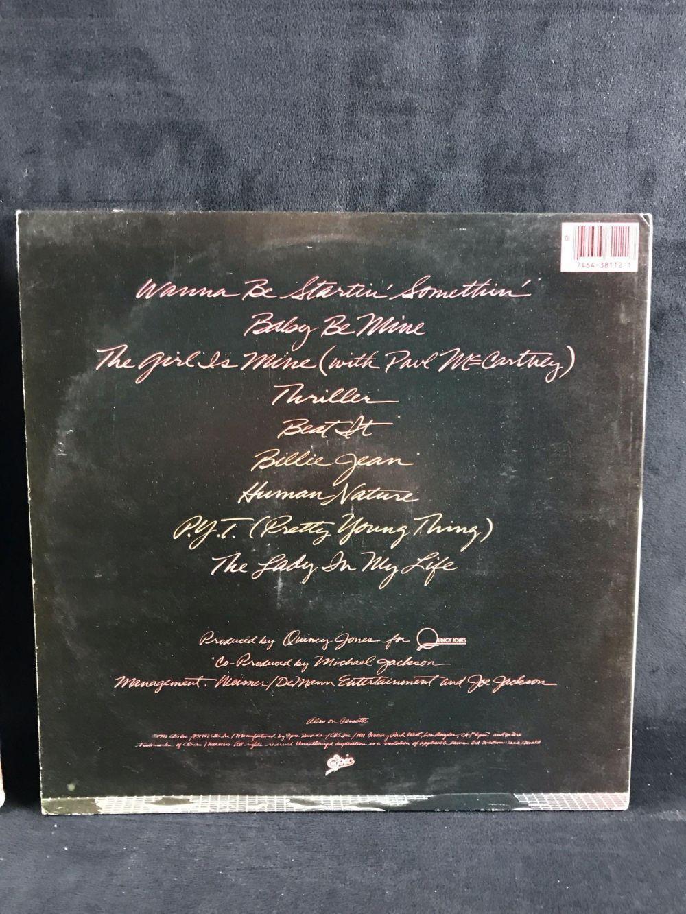 Lot 49: Michael Jackson Vinyl Album