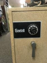 Lot 59: Gardell Floor Mounted Fire Insulated Safe